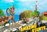 3D Crazy Impossible Tricky BMM Bike Racing Stunt