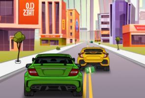 Tráfico de vehículos 2D