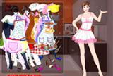 Chef Moda Dressup
