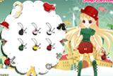 Christmas Lovely Girl