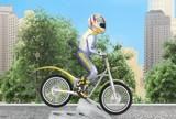 Nemokama stiliaus dviratis lenktynininkas