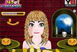 Hairstyl conxelado Anna Halloween