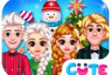 Frozen Princess Christmas Cele