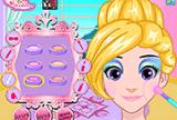 Glittery Makeover Rapunzel