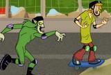 Scooby doo pilotua Rollerghoster